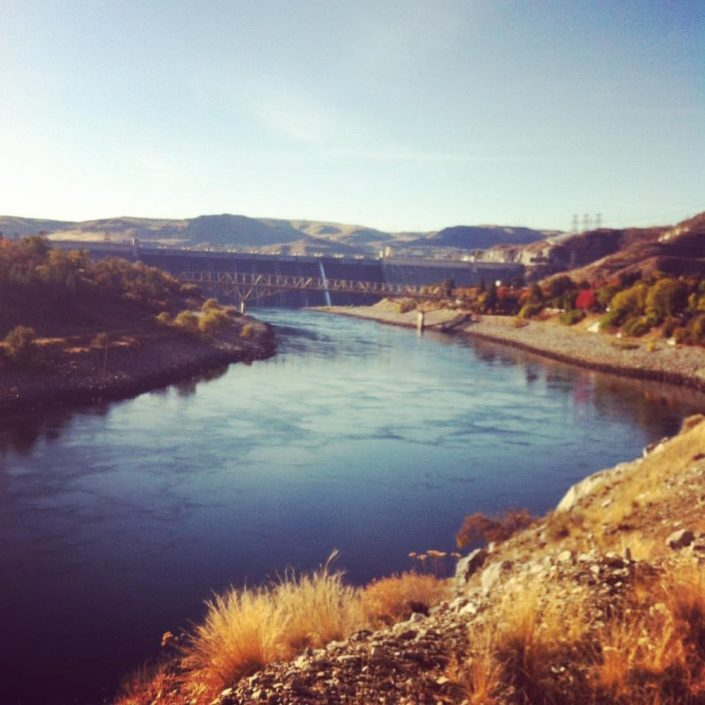 Coulee area