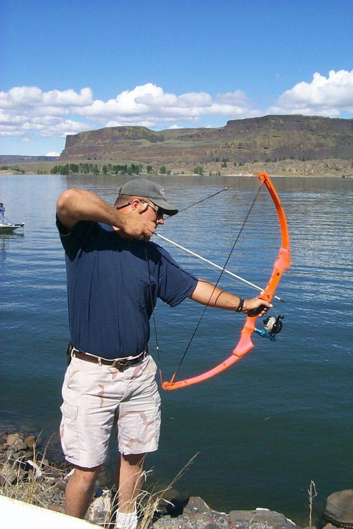 Carp bow fisherman